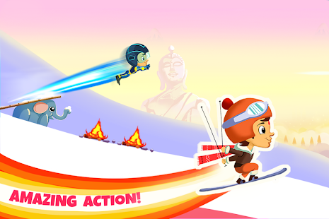 Chhota Bheem Himalayan Game- screenshot thumbnail