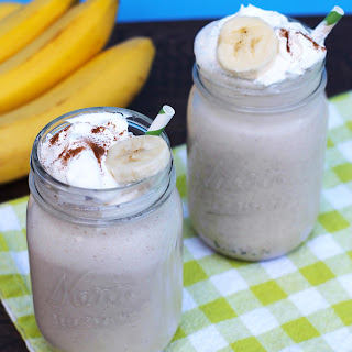 Grown Up Bananas Foster Milkshake.
