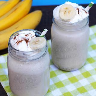 Grown Up Bananas Foster Milkshake