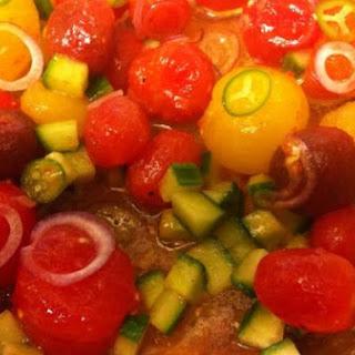 Petite Tomato Salad Tartar