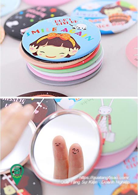 Gương mini - Thiết kế gương mini in theo yêu cầu