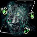 Wild Wolf Staring Theme icon
