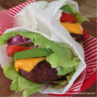 Low-Carb Chipotle Cheeseburger Lettuce Wrap.
