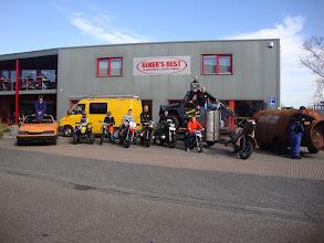 Photo: Het team klaar voor vertrek naar het Crazy Cross terrein...