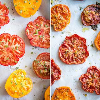 Slow Roasted Tomatoes.