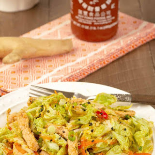 Spicy Pork and Napa Cabbage Salad Recipe