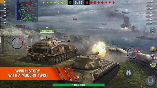 World of Tanks Blitz MMO MOD Apk 6.10.0.573 (Unlimited Gold) 4