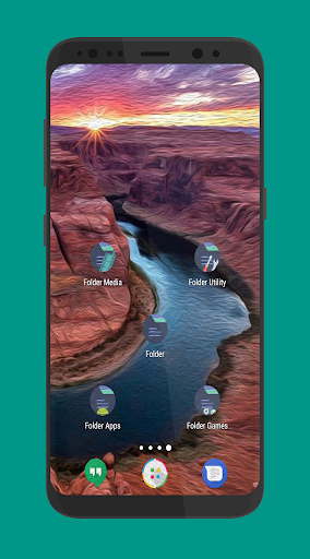 Oil Paint Icon app for Android screenshot