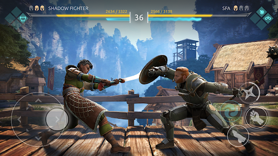 Shadow Fight Arena Apk MOD +OBB/Data for Android. [Unlimited Coins/Gems] 5