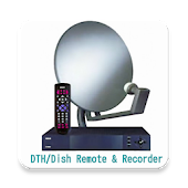 Dish-DTH Recorder & TV Remote