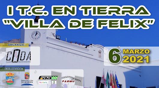 Será en  Felix donde dará comienzo el Campeonato de Andalucía  Rallys de Tierra
