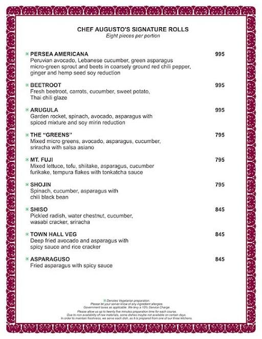 Town hall menu 7