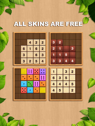 TENX - Wooden Number Puzzle Game 1.1.3 screenshots 7