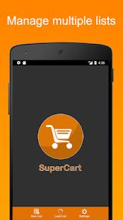 SuperCart - náhled