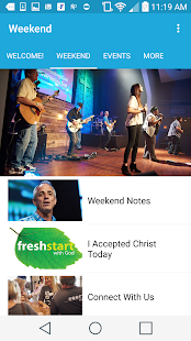 Bayside Community Church- screenshot thumbnail
