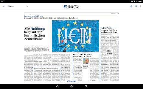 az Solothurner Zeitung E-Paper screenshot 6