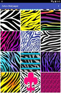 Zebra Wallpaper - náhled