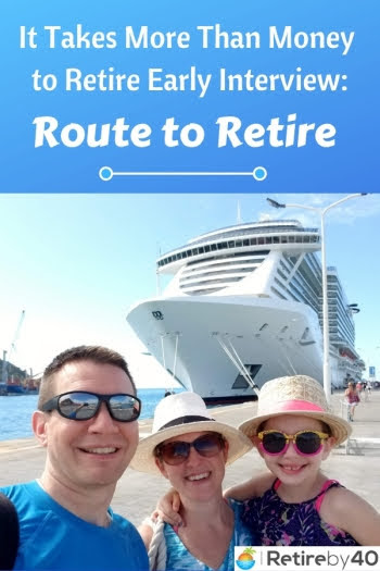 It takes more than money to retire early interview: Route to Retire
