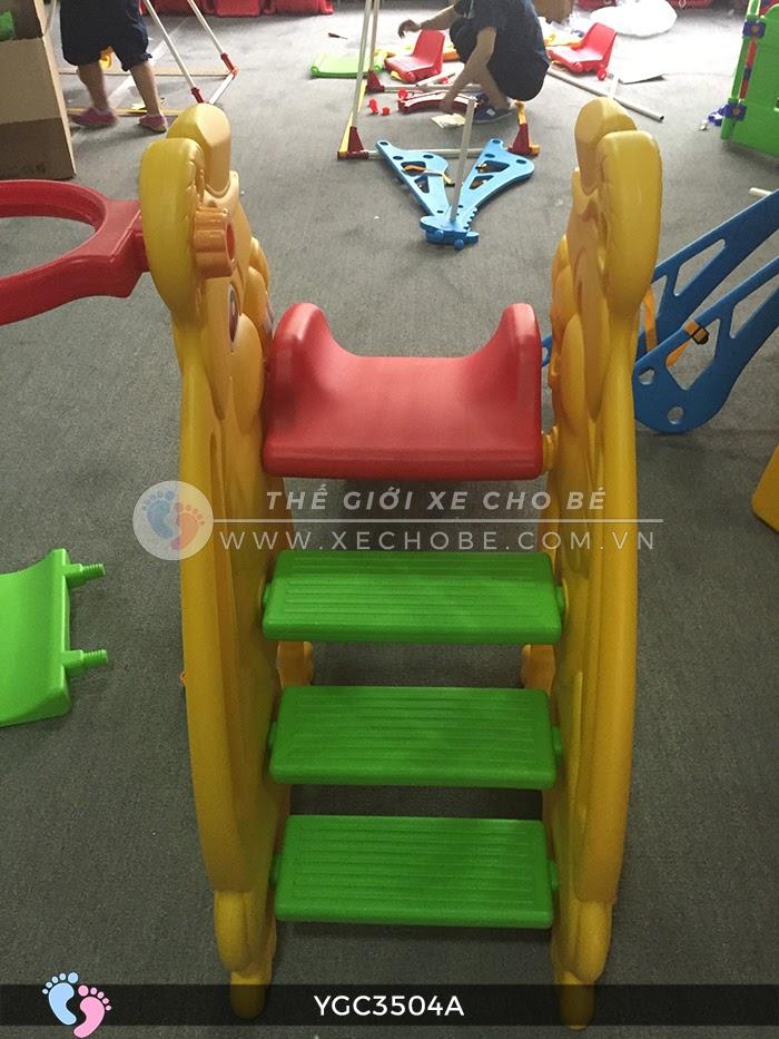 Cầu trượt cho bé hình thỏ YGC-3504A 9