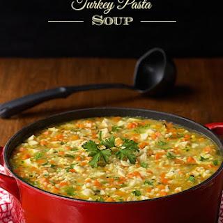 Turkey Pasta Soup.