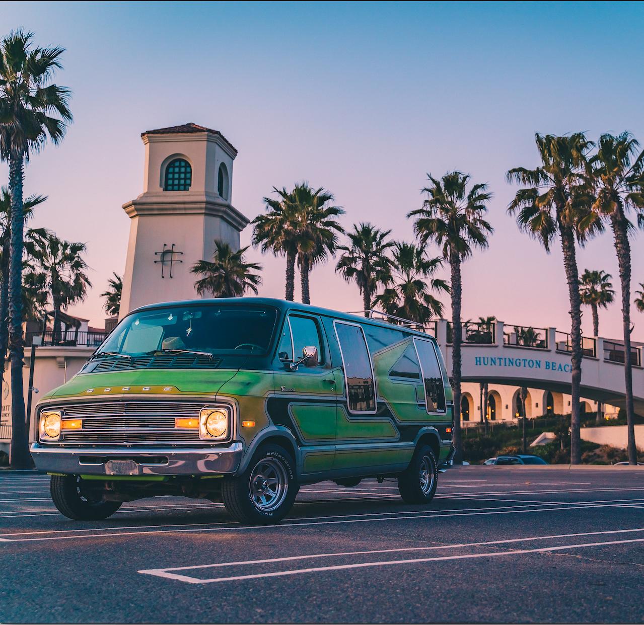 Dodge  Van Hire Riverside