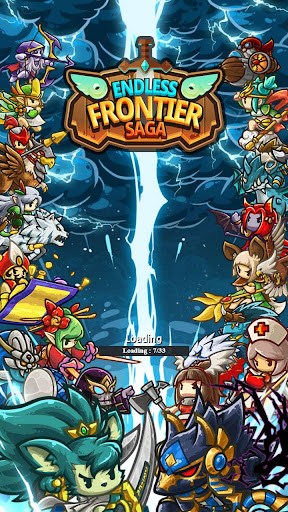 Endless Frontier, RPG online  captures d'u00e9cran 1