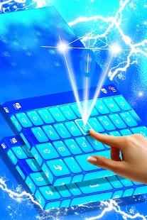 Emoji Keyboard Blue - náhled