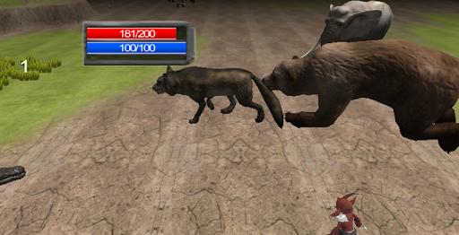 Wolf Rampage Simulator 3D