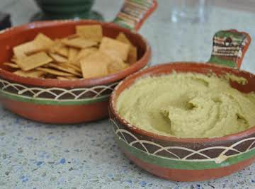 Hummus with Italian Parsley