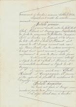 Photo: Acte de Société entre EBERLÉ, HÉRAUT et DUPUIS- 1874 - page3