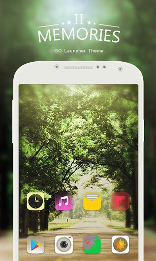 Memories GO Launcher Theme