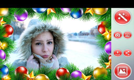聖誕 相框|玩攝影App免費|玩APPs