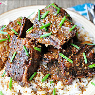Slow Cooker Asian Beef Short Ribs.
