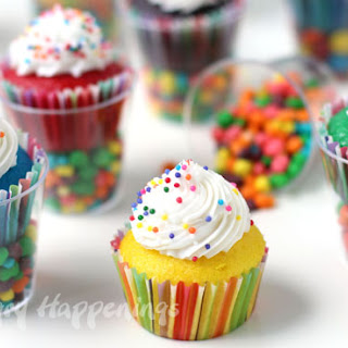 Cupcakes Filled With Candy Recipes.