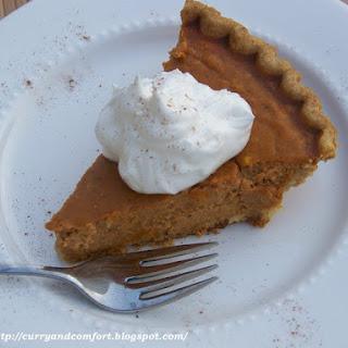 Not Just for Thanksgiving Pumpkin Pie
