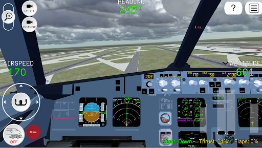 Flight Simulator Advanced 1.6.1 Cheat screenshots 1