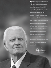 Photo: Rev Billy Graham Ad Against Obama