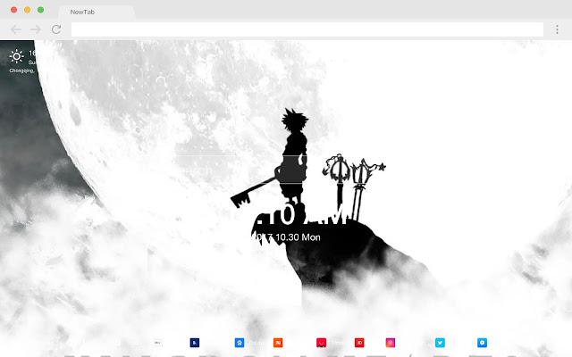 Kingdom Heart HD Wallpapers New Tab Themes