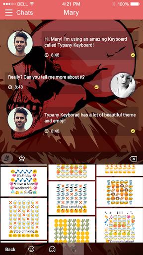 mod Bloody Skulls Typany Theme 4.5 screenshots 4