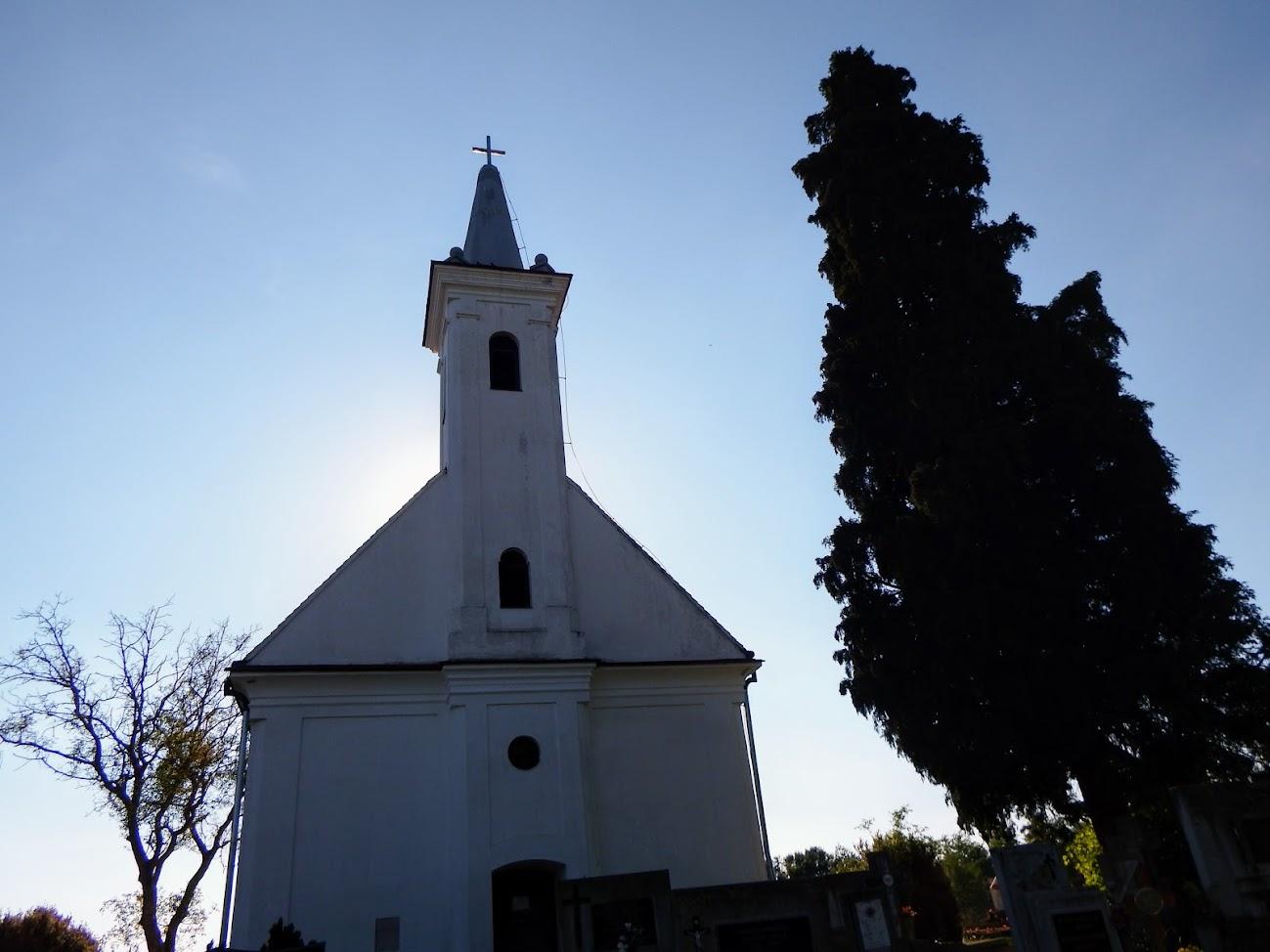 Bagod - Vitenyédi Szent Pál rk. templom a temetőben