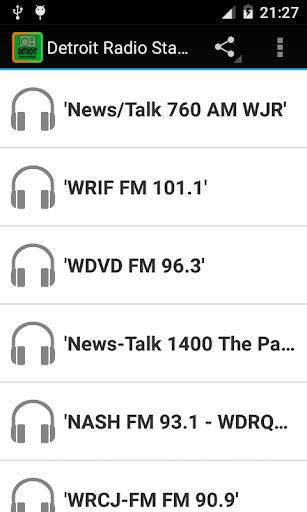 Detroit Radio Stations ss1