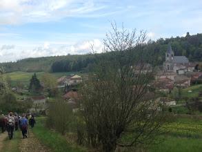 Photo: Arrivée sur Montigny les Vaucouleurs