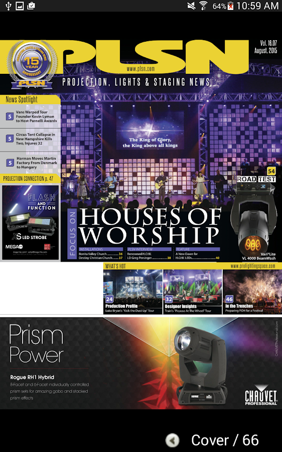 PLSN Magazine- screenshot