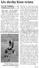 Photo: 27-03-11 N3F l'ASVB, pas assez combative, passe à côté du derby 0-3