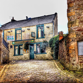 barnoldswick by Betty Taylor - Buildings & Architecture Homes ( street scene, buildings, homes, street photography, architecture )