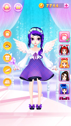 Princess Fashion Makeover: Hair Salon & Dress up 1.11 gameplay | by HackJr.Pw 8