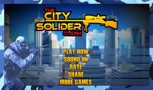 City Soldier Clash