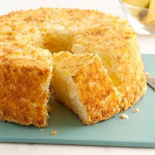 Two-Ingredient Pineapple Angel Food Cake.
