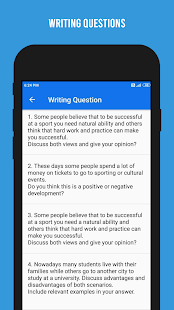 Download IELTS Writing - Academic and General For PC Windows and Mac apk screenshot 5