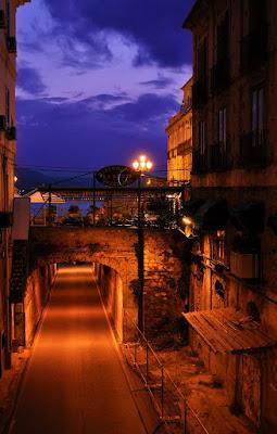 Pizzo in the night di Maccarrone Alfredo